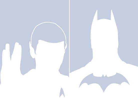 No, Batman e Mr. Spock. Nemmeno voi potete stare su Facebook.