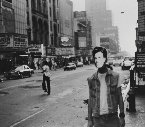 David Wojnarowicz's Arthur Rimbaud in New York (Times Square)